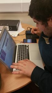 Service user adding new devices to the DesKTop platform